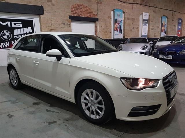 used Audi A3 TDI SE sat nav in yeadon-leeds-for-sale