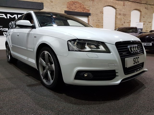 used Audi A3 SPORTBACK TDI QUATTRO S LINE SPECIAL EDITION in yeadon-leeds-for-sale