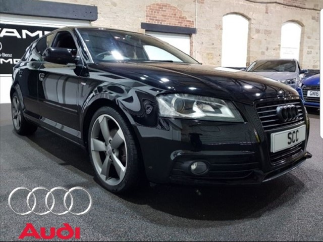 used Audi A3 SPORTBACK TDI S LINE SPECIAL EDITION in yeadon-leeds-for-sale