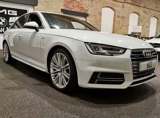 used Audi A4 TFSI QUATTRO S LINE in yeadon-leeds-for-sale