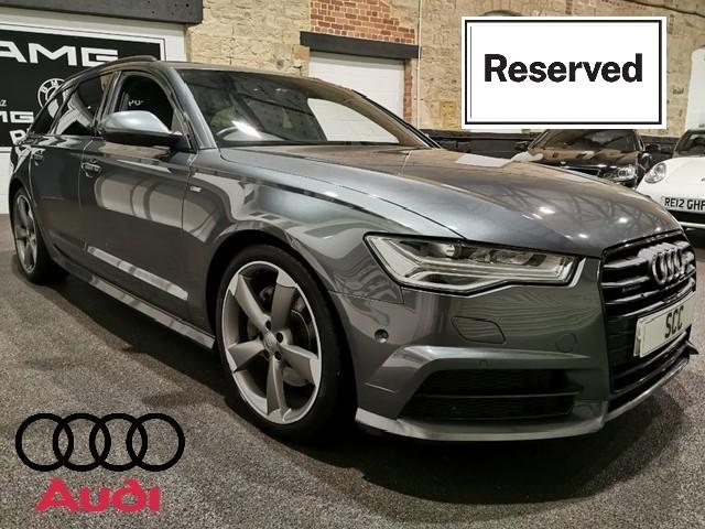 used Audi A4 AVANT TDI QUATTRO S LINE BLACK ED NAV in yeadon-leeds-for-sale