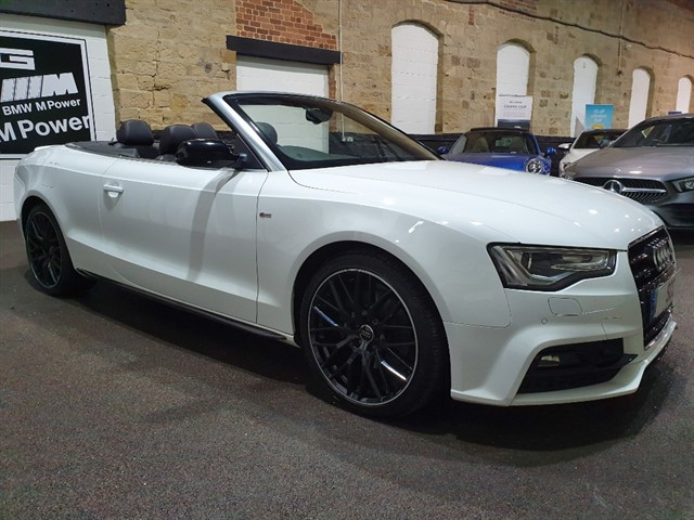 used Audi A5 TFSI QUATTRO S LINE SPECIAL EDITION PLUS in yeadon-leeds-for-sale