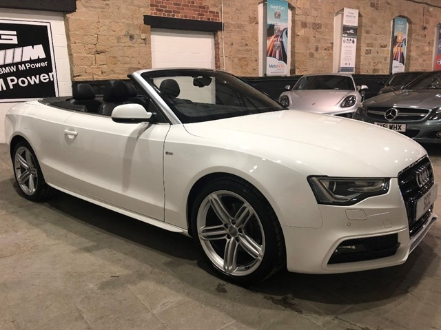 used Audi A5 TDI S LINE SPECIAL EDITION in yeadon-leeds-for-sale