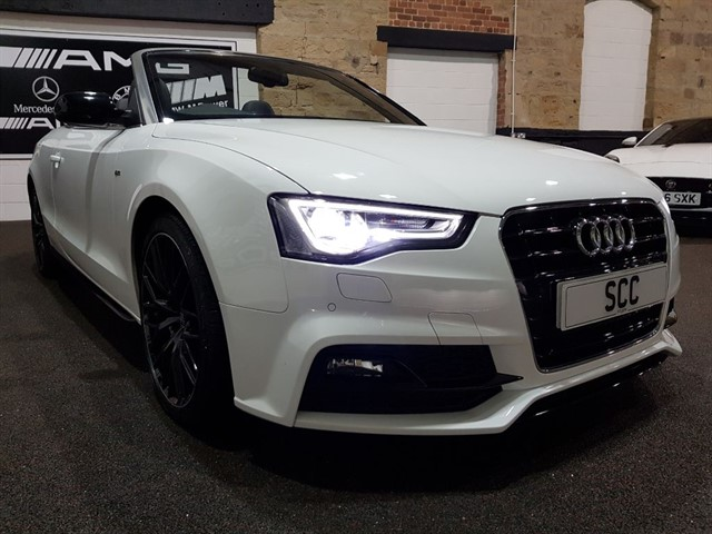 used Audi A5 TDI S LINE SPECIAL EDITION PLUS in yeadon-leeds-for-sale