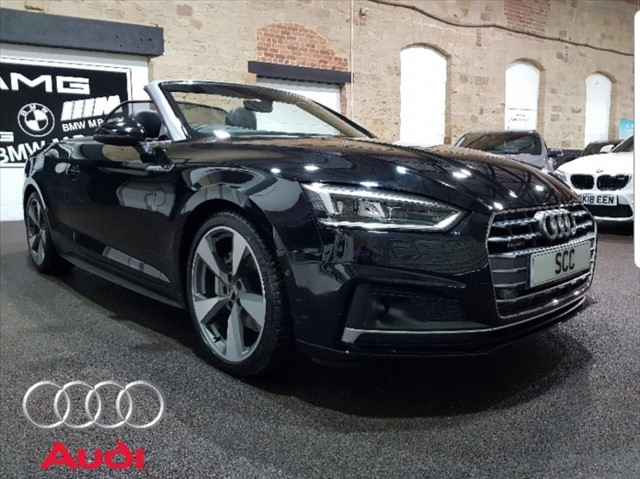 used Audi A5 TDI QUATTRO S LINE in yeadon-leeds-for-sale