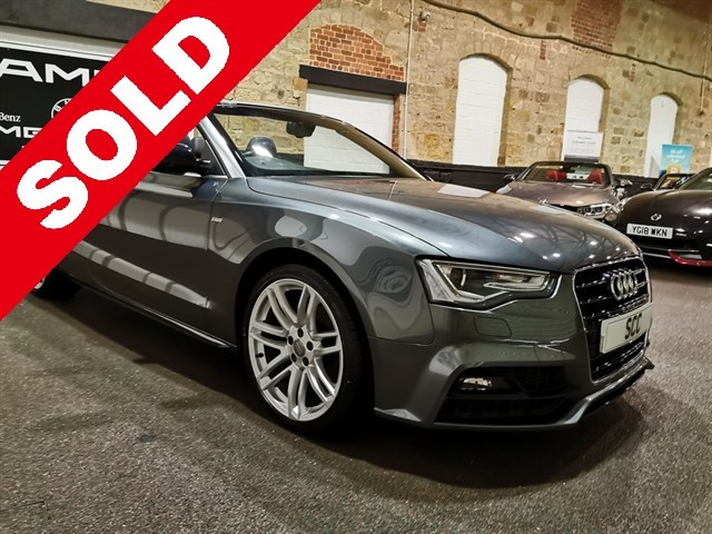 used Audi A5 TFSI S LINE SPECIAL EDITION PLUS in yeadon-leeds-for-sale