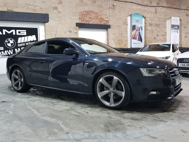used Audi A5 TDI S LINE BLACK EDITION in yeadon-leeds-for-sale