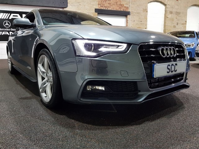 used Audi A5 TDI S LINE S/S in yeadon-leeds-for-sale
