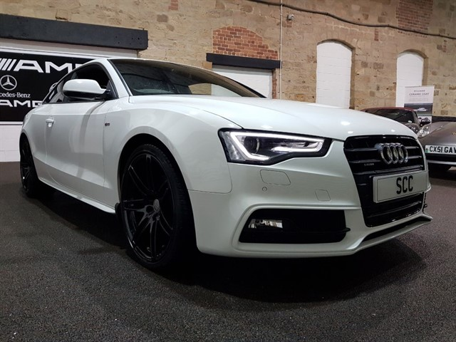 used Audi A5 3.0 BLACK EDITION QUATTRO in yeadon-leeds-for-sale