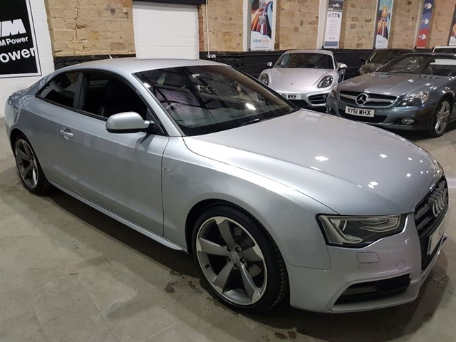 used Audi A5 TFSI S LINE BLACK EDITION in yeadon-leeds-for-sale