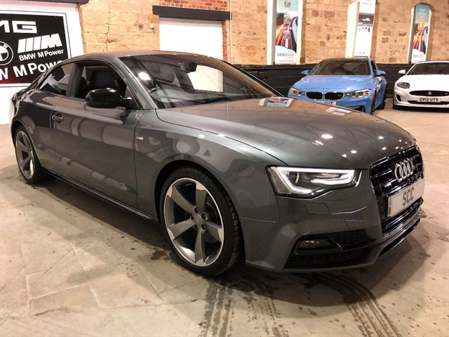 used Audi A5 TFSI QUATTRO S LINE BLACK EDITION PLUS in yeadon-leeds-for-sale