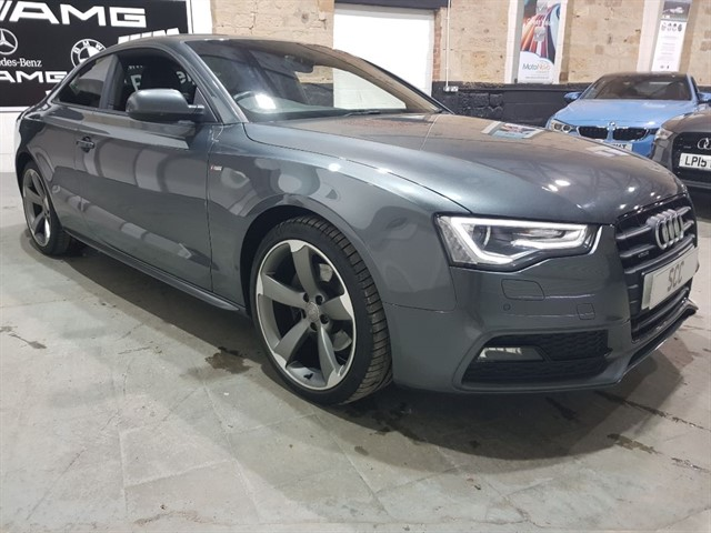 used Audi A5 TFSI QUATTRO S LINE BLACK EDITION in yeadon-leeds-for-sale
