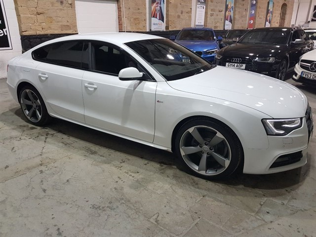 used Audi A5 SPORTBACK TDI QUATTRO S LINE BLACK ED S/S in yeadon-leeds-for-sale