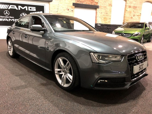used Audi A5 SPORTBACK TDI QUATTRO S LINE in yeadon-leeds-for-sale