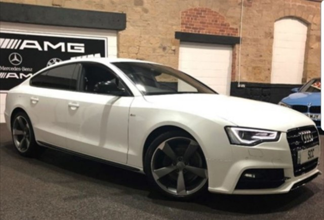 used Audi A5 TDI QUATTRO S LINE BLACK EDITION PLUS in yeadon-leeds-for-sale