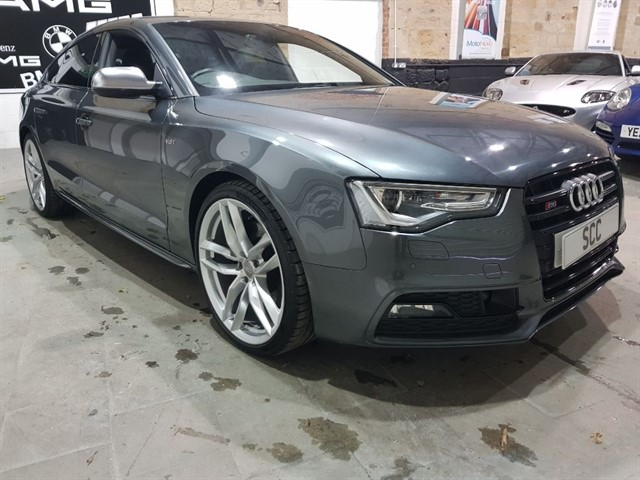 used Audi S5 S5 SPORTBACK TFSI QUATTRO BLACK EDITION in yeadon-leeds-for-sale