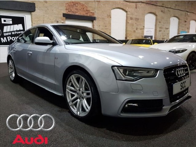 used Audi A5 SPORTBACK TFSI QUATTRO S LINE in yeadon-leeds-for-sale
