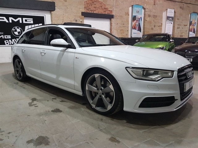 used Audi A6 Avant TDI QUATTRO S LINE BLACK EDITION in yeadon-leeds-for-sale