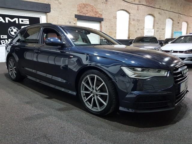 used Audi A6 Avant AVANT TDI ULTRA S LINE BLACK EDITION in yeadon-leeds-for-sale