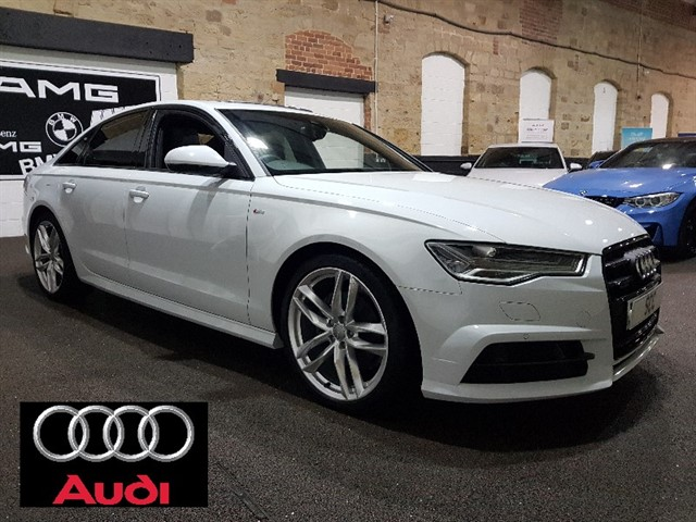 used Audi A6 Saloon TDI QUATTRO S LINE BLACK EDITION in yeadon-leeds-for-sale