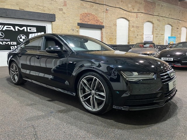 used Audi A7 SPORTBACK TDI QUATTRO S LINE BLACK ED in yeadon-leeds-for-sale
