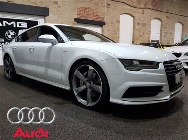 used Audi A7 SPORTBACK TFSI QUATTRO BLACK ED in yeadon-leeds-for-sale