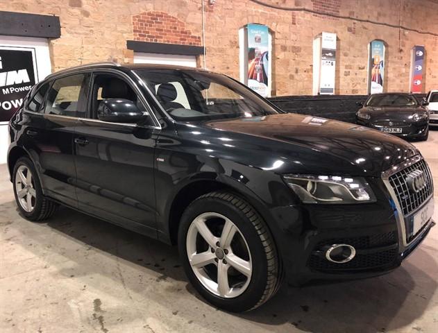 used Audi Q5 TDI QUATTRO S LINE in yeadon-leeds-for-sale