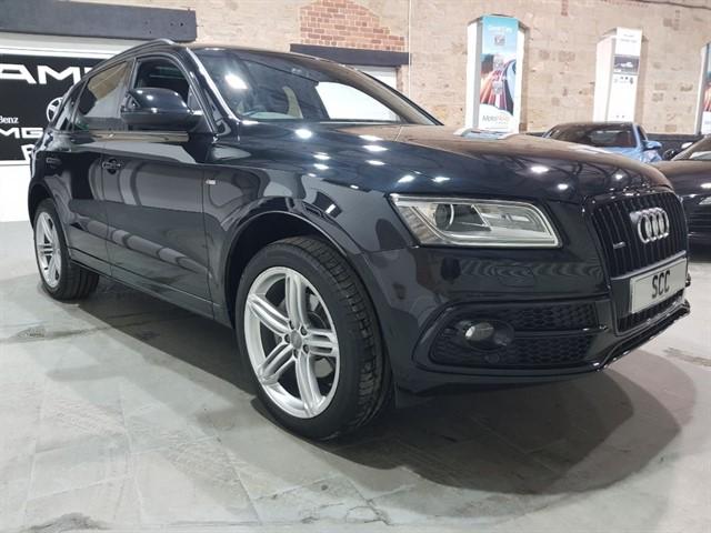 used Audi Q5 TFSI QUATTRO S LINE PLUS in yeadon-leeds-for-sale