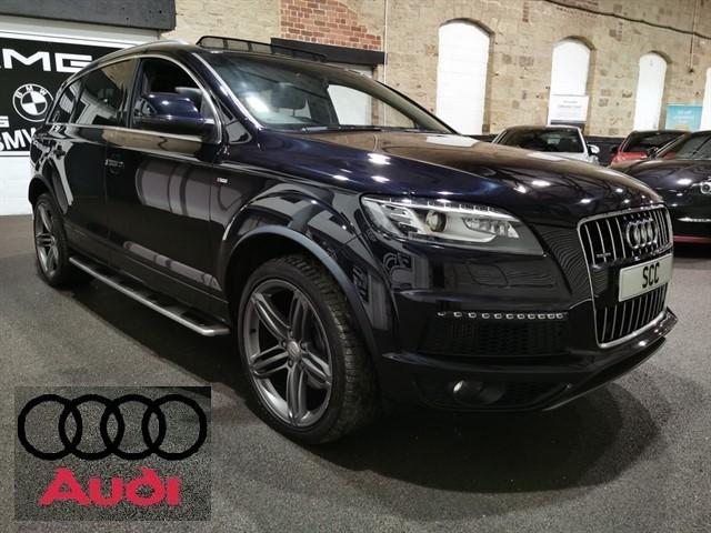 used Audi Q7 TDI QUATTRO S LINE PLUS in yeadon-leeds-for-sale