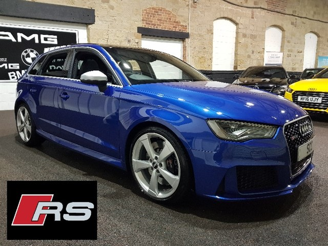 used Audi RS3 SPORTBACK QUATTRO NAV in yeadon-leeds-for-sale