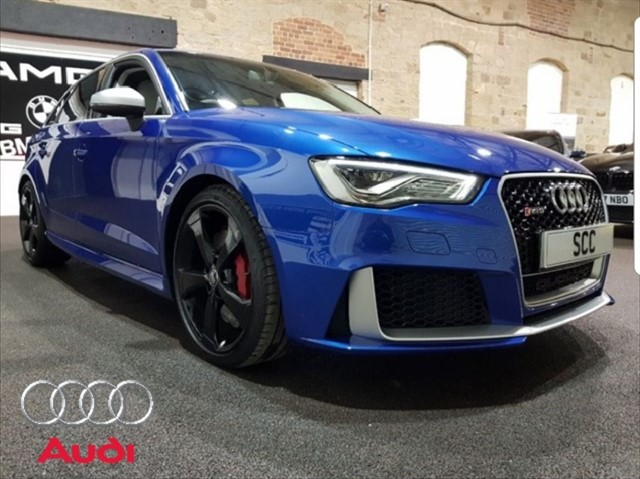 used Audi RS3 RS3 SPORTBACK QUATTRO NAV in yeadon-leeds-for-sale