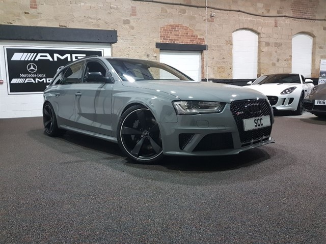 used Audi RS4 Avant RS4 AVANT FSI QUATTRO in yeadon-leeds-for-sale