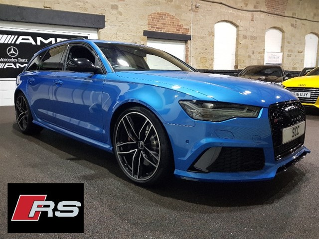 used Audi RS6 PERFORMANCE AVANT TFSI QUATTRO in yeadon-leeds-for-sale
