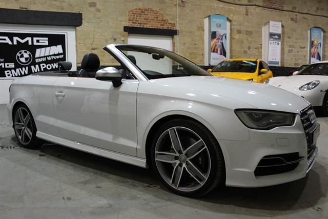 used Audi S3 S3 QUATTRO NAV in yeadon-leeds-for-sale
