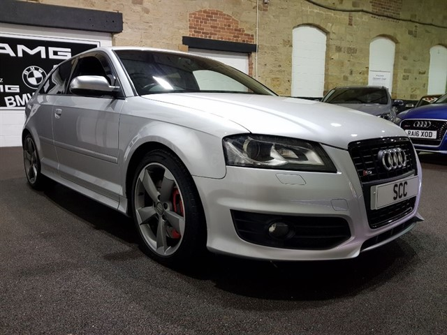 used Audi S3 S3 TFSI QUATTRO S LINE BLACK EDITION in yeadon-leeds-for-sale