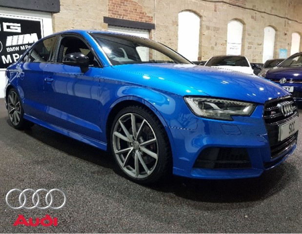 used Audi S3 S3 TFSI QUATTRO BLACK EDITION in yeadon-leeds-for-sale