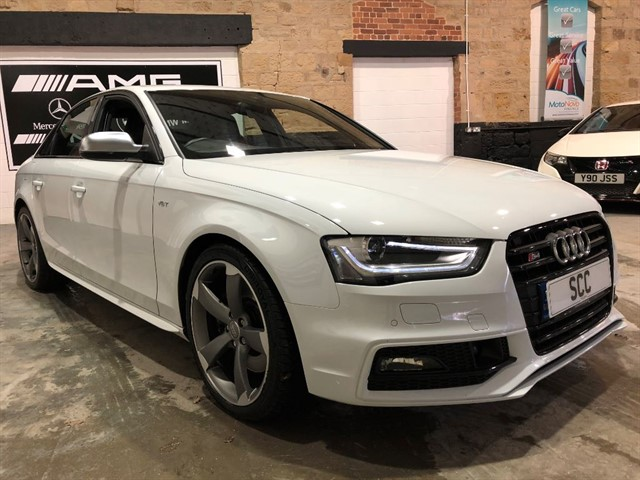 used Audi S4 S4 QUATTRO BLACK EDITION in yeadon-leeds-for-sale