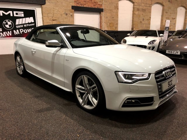 used Audi S5 S5 TFSI QUATTRO S/S in yeadon-leeds-for-sale