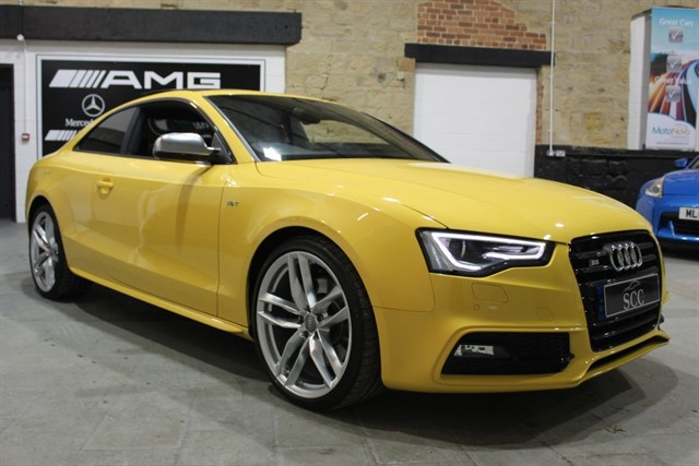 used Audi S5 S5 TFSI QUATTRO S LINE BLACK EDITION in yeadon-leeds-for-sale