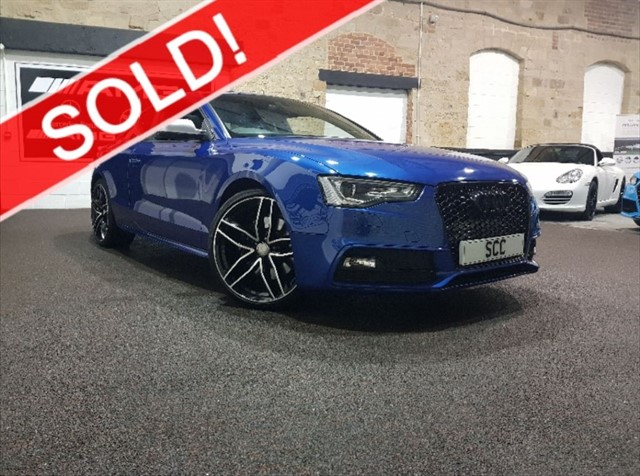 used Audi S5 S5 TFSI QUATTRO  BLACK EDITION in yeadon-leeds-for-sale