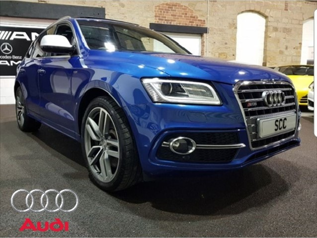 used Audi SQ5 SQ5 TDI QUATTRO in yeadon-leeds-for-sale