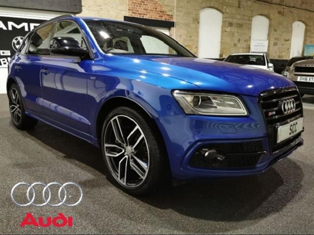 used Audi SQ5 SQ5 PLUS TDI QUATTRO in yeadon-leeds-for-sale
