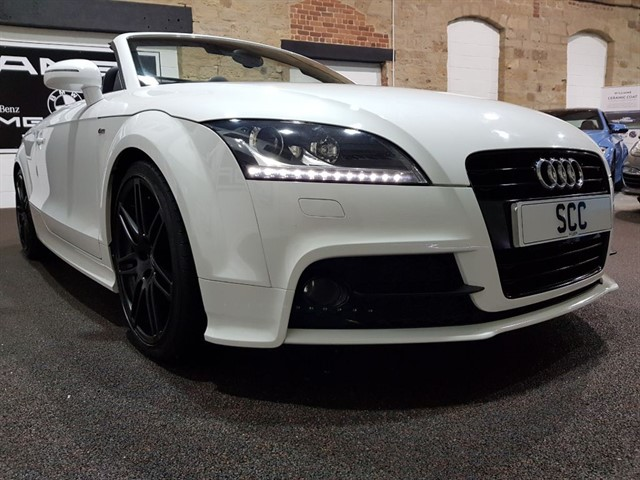 used Audi TT TFSI BLACK EDITION in yeadon-leeds-for-sale