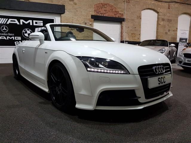used Audi TT TFSI BLACK EDITION in yeadon-leeds-for-sale