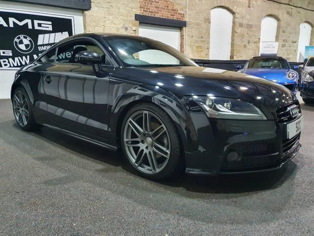 used Audi TT TDI QUATTRO S LINE BLACK EDITION in yeadon-leeds-for-sale