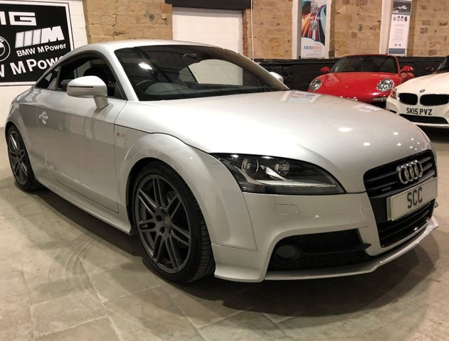 used Audi TT TDI QUATTRO BLACK EDITION in yeadon-leeds-for-sale