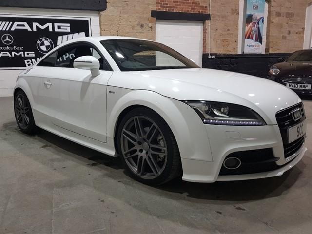 used Audi TT TDI QUATTRO S LINE in yeadon-leeds-for-sale