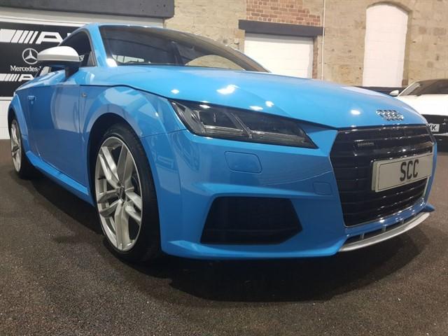 used Audi TT TFSI QUATTRO S LINE in yeadon-leeds-for-sale