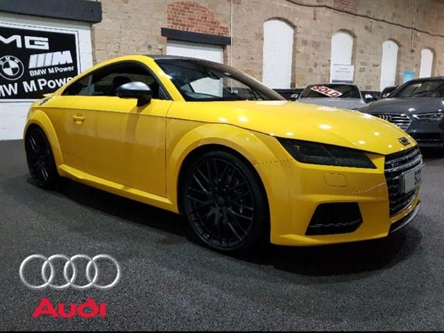 used Audi TT TTS TFSI QUATTRO in yeadon-leeds-for-sale