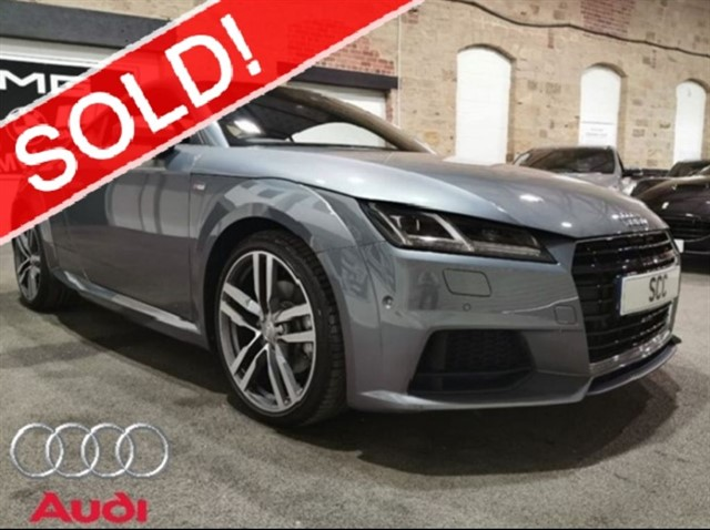 used Audi TT TFSI S LINE in yeadon-leeds-for-sale